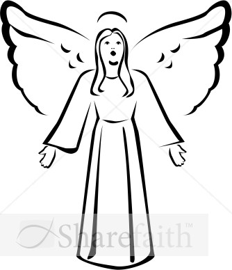 Christmas Angel Clipart   Clipart Panda   Free Clipart Images