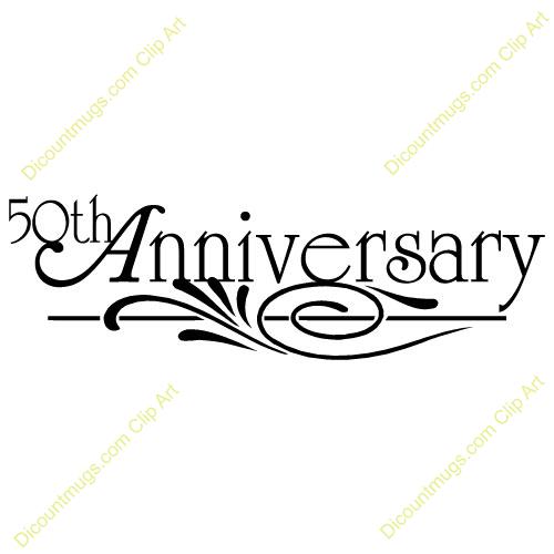 Clip Art 50th Anniversary Clip Art golden wedding anniversary clipart kid 11749 50th text mugs t