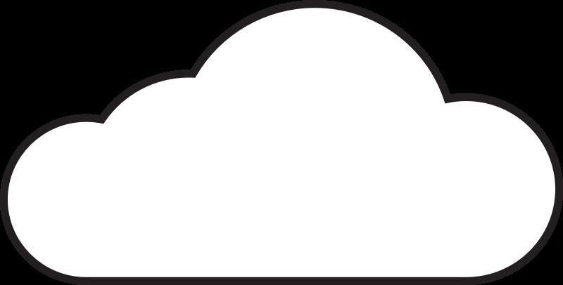 Cloud Service Clipart - Clipart Kid