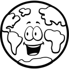 Earth Clipart Black And White   Clipart Panda   Free Clipart Images