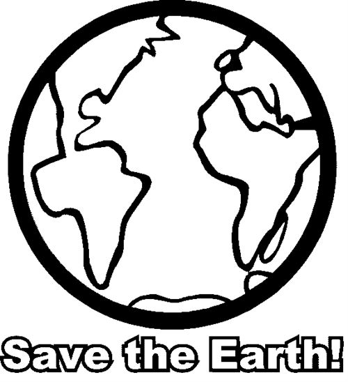 Earth Clipart Black And White Free Earth Day Clip Art Black And White