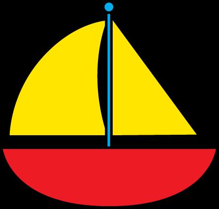 Sail Boat Clipart - Clipart Kid