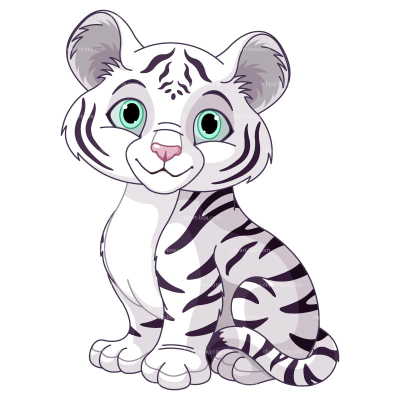 Tiger Clip Art Black And White   Clipart Panda   Free Clipart Images
