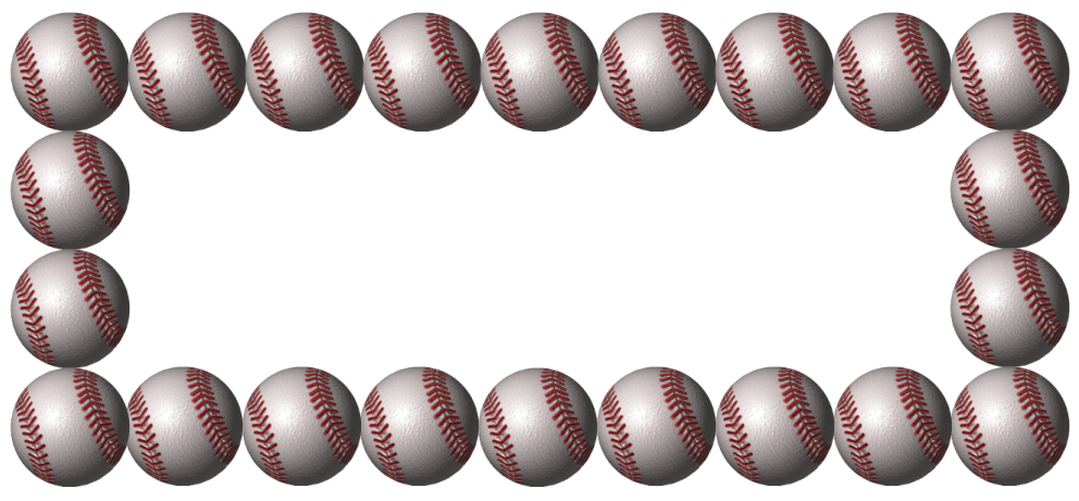 Baseball Border Have A Baseball Border