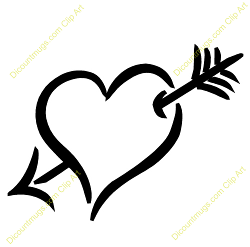 Clipart 12479 Sketchy Heart   Sketchy Heart Mugs T Shirts Picture