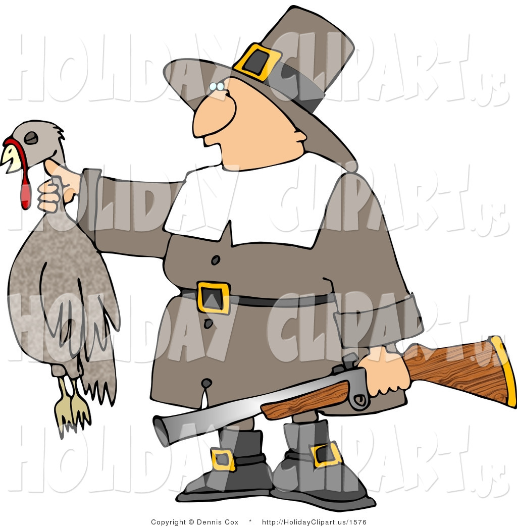 Dead Turkey By The Neck And A Gun   Thanksgiving Holiday By Dennis Cox