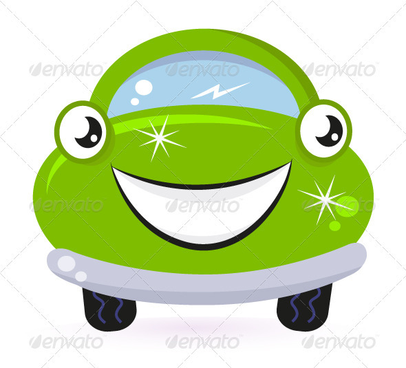 Happy Car Cute Clipart - Clipart Kid