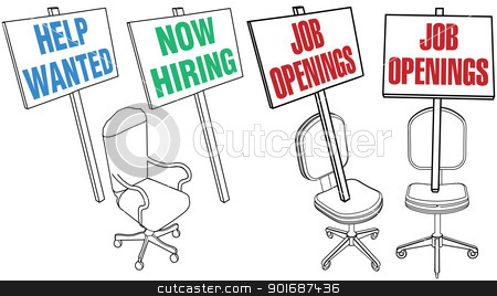 Help Wanted Clip Art Office Chair Help Wanted Job