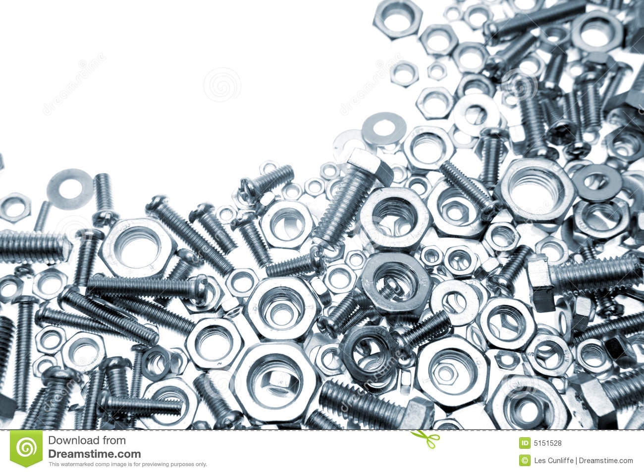 Nuts And Bolts Clipart Nuts And Bolts On White