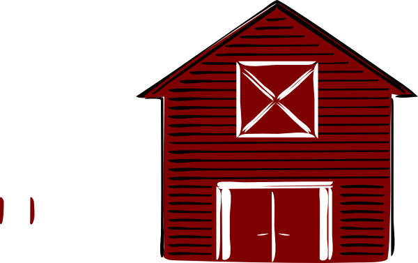 simple red barn clipart clipart suggest big red barn clip art Country Red Barn Clip Art