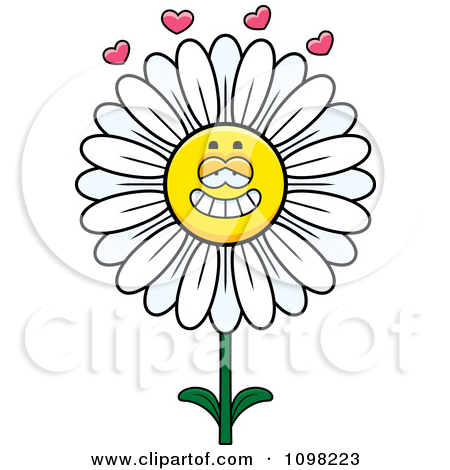 Royalty Free  Rf  White Daisy Flower Clipart Illustrations Vector