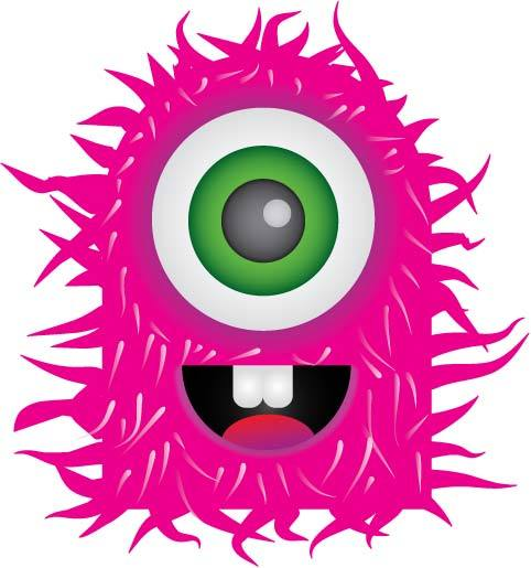 Scary Cartoon Monster   Clipart Panda   Free Clipart Images