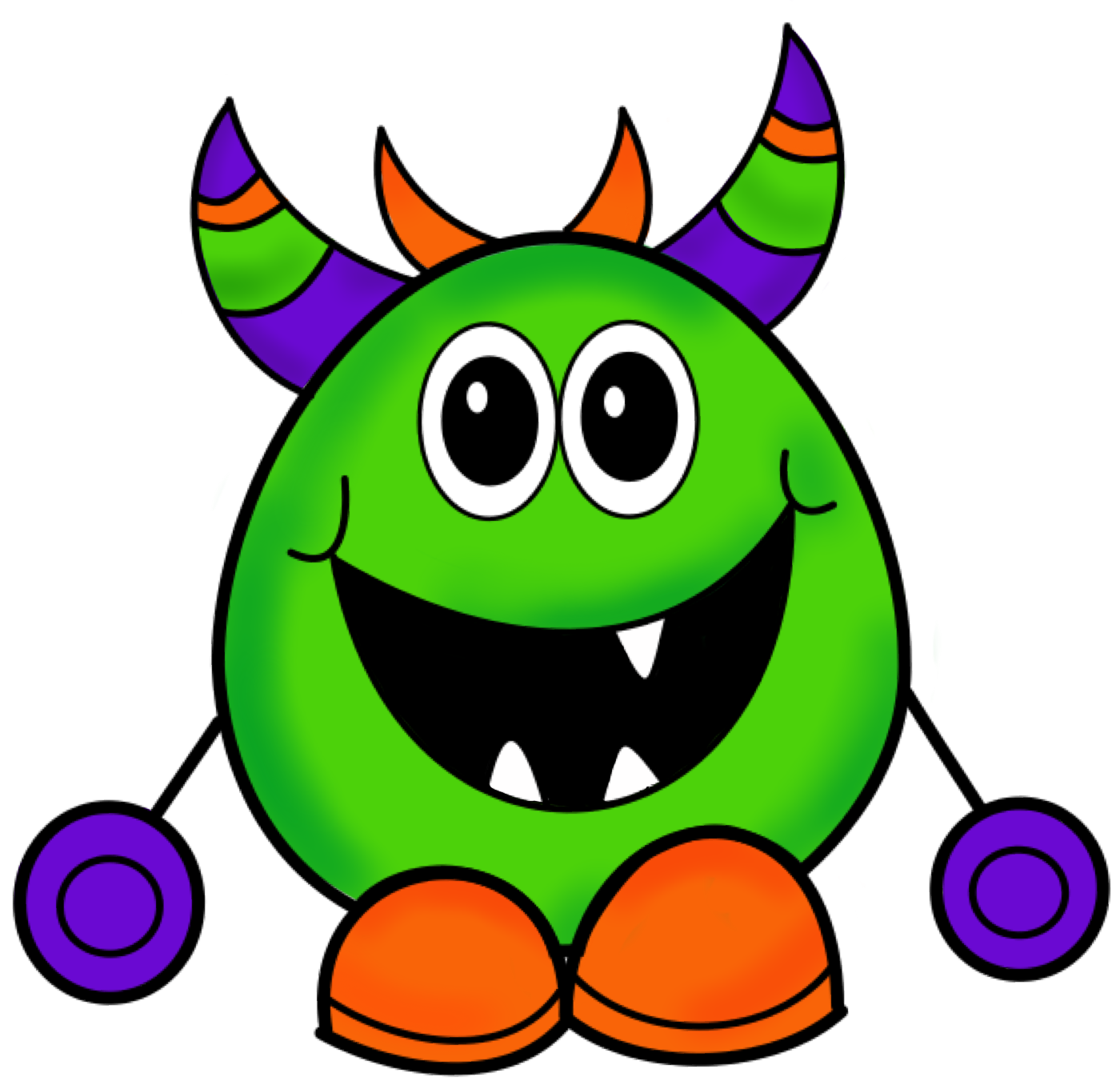 Scary Monster Clipart   Clipart Panda   Free Clipart Images