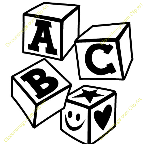 Abc Clipart Black And White   Clipart Panda   Free Clipart Images