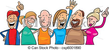 Clip Art Group Of People Smiling Clipart - Clipart Kid