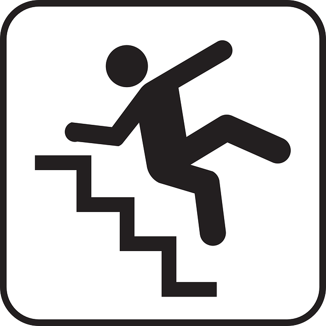 Falling Tripping Down Stairs Staircase Stairway