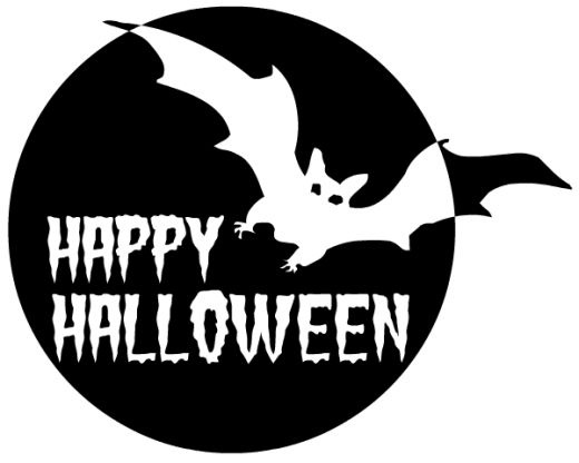 Black And White Halloween Free Clipart - Clipart Kid