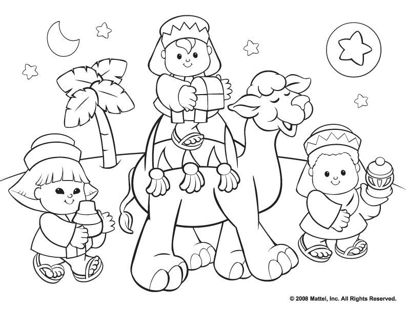 coloring pages christmas lutheran - photo#7