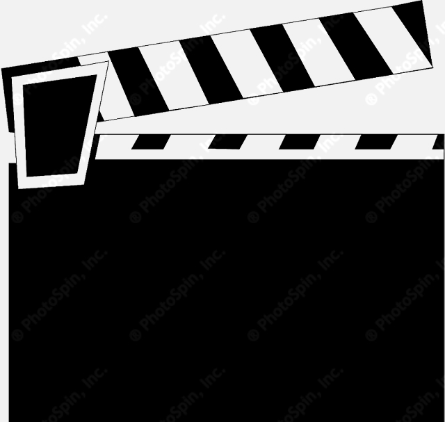 Movie Clapper Clipart Movie Clapper Board Clip Art