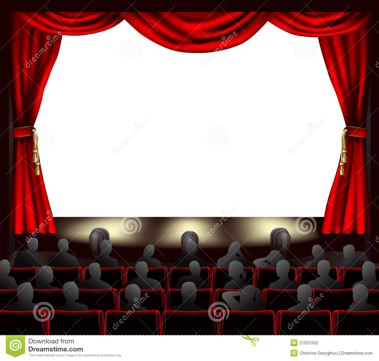 Vintage Movie Theater Clipart - Clipart Suggest