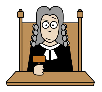 Cartoon Judge Clipart - Clipart Kid