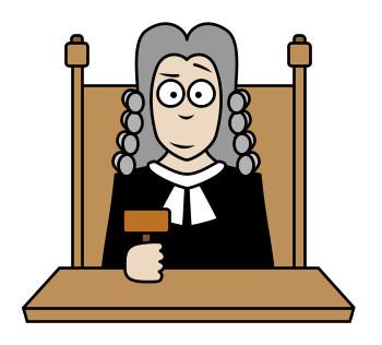 Cartoon Judge Clipart - Clipart Kid