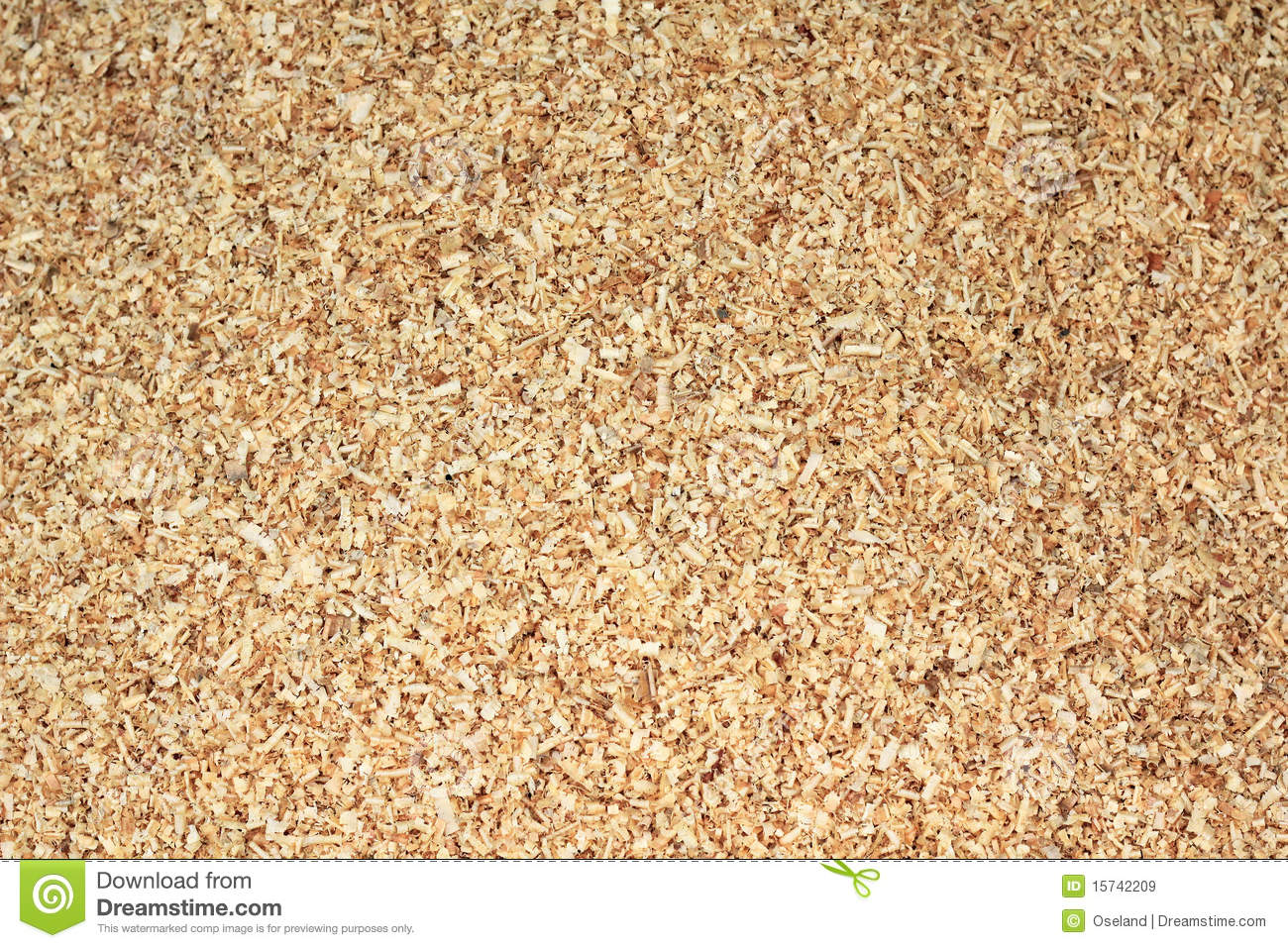 Closeup Of A Pile Of Sawdust That Fills The Entire Frame  Can Be