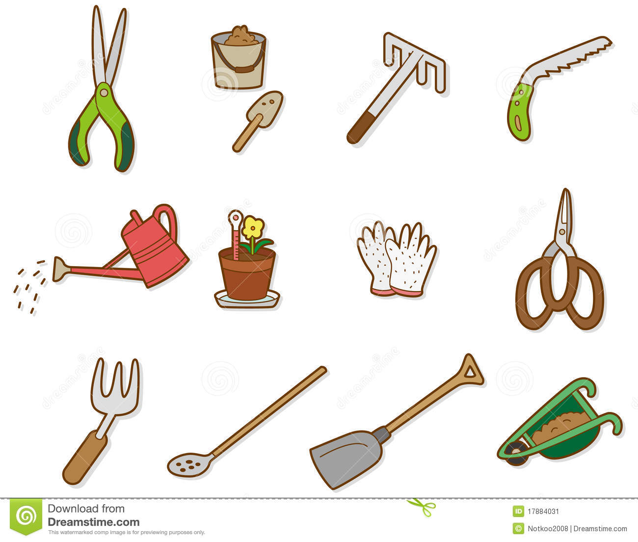Farmer tools clipart clipart suggest for Gardening tools clipart
