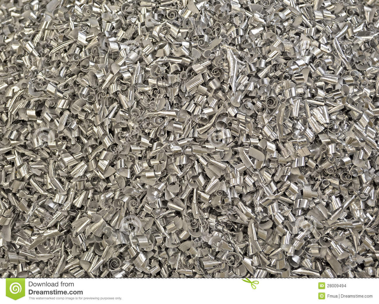 Focus On Center  Abstract Metal Garbage Heap Industrial Dust Details
