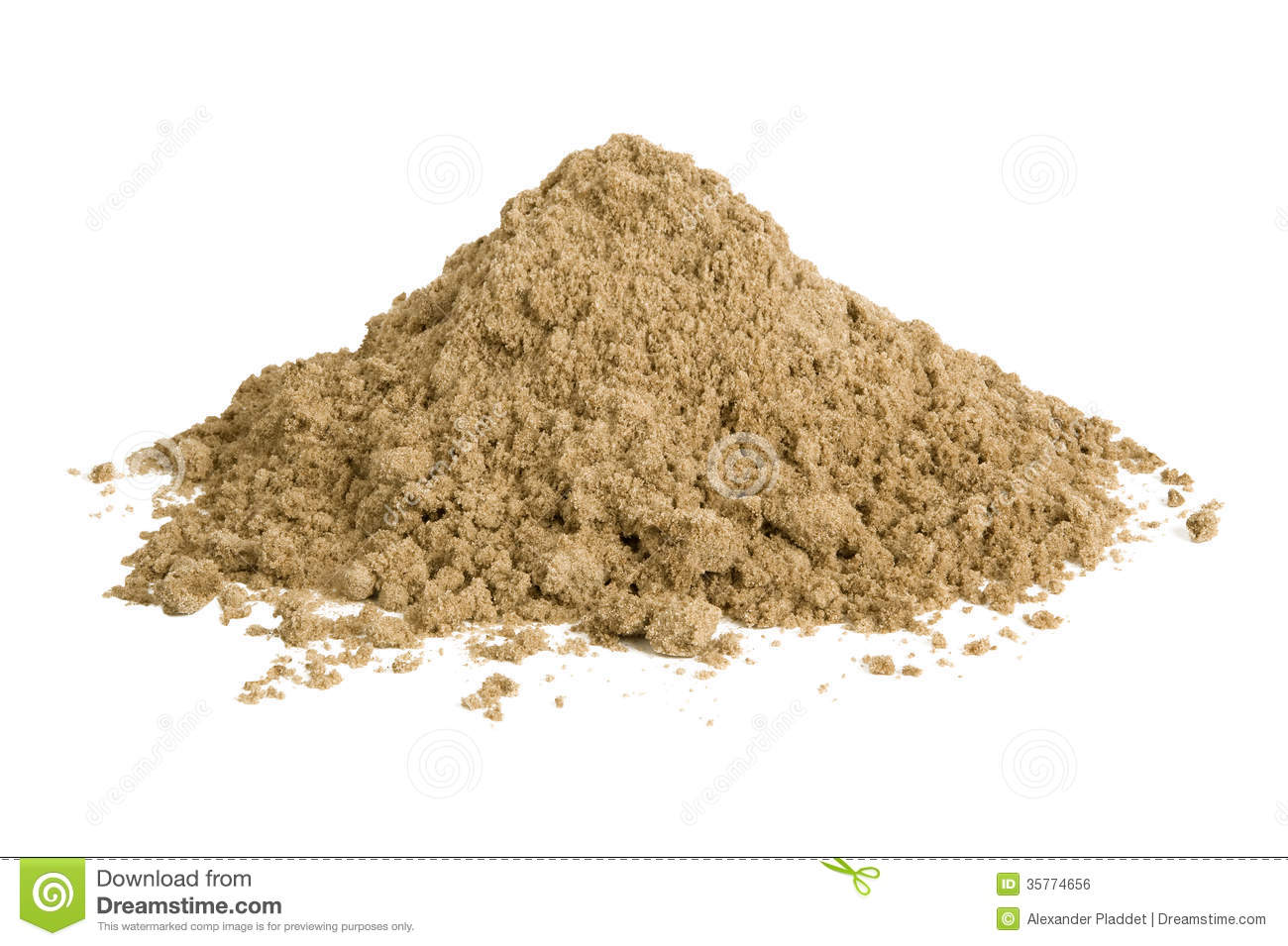 Pile Of Sand Royalty Free Stock Image   Image  35774656