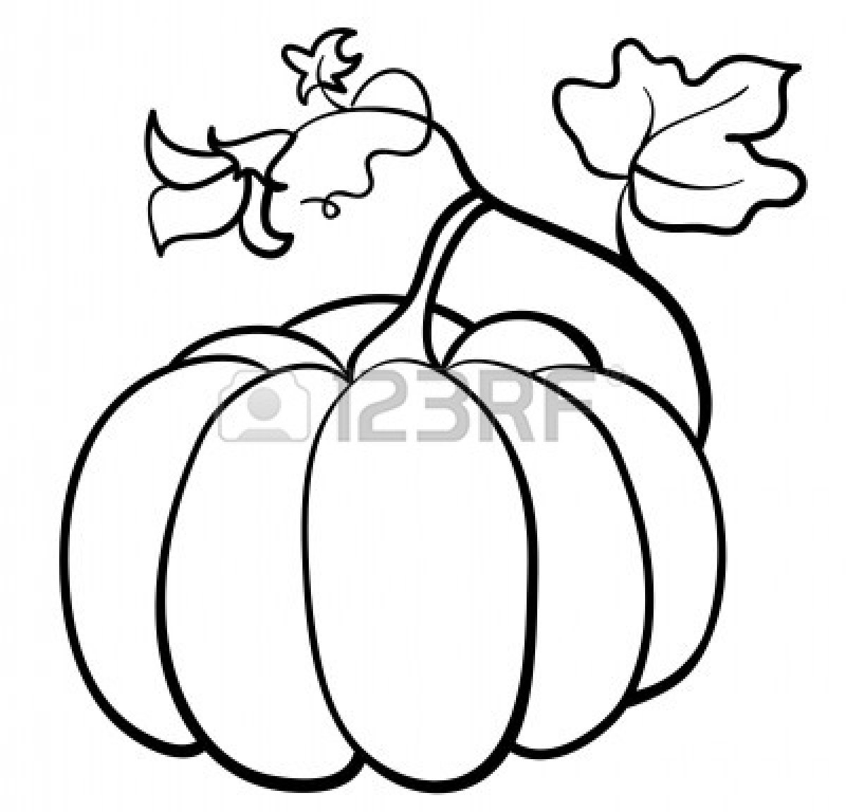 pumpkin clip art free black and white - photo #33