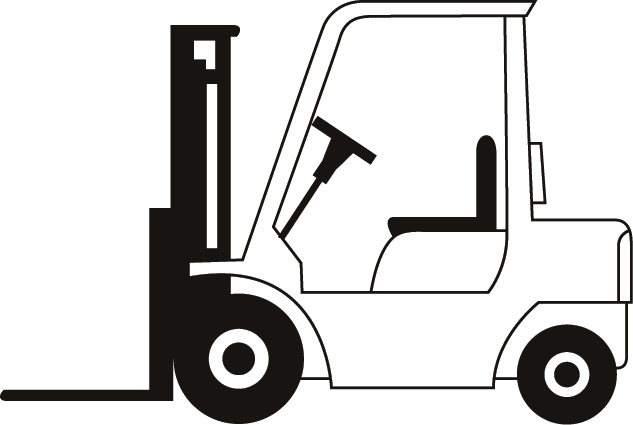 Forklift Drawing fork lift clipart - clipart kid