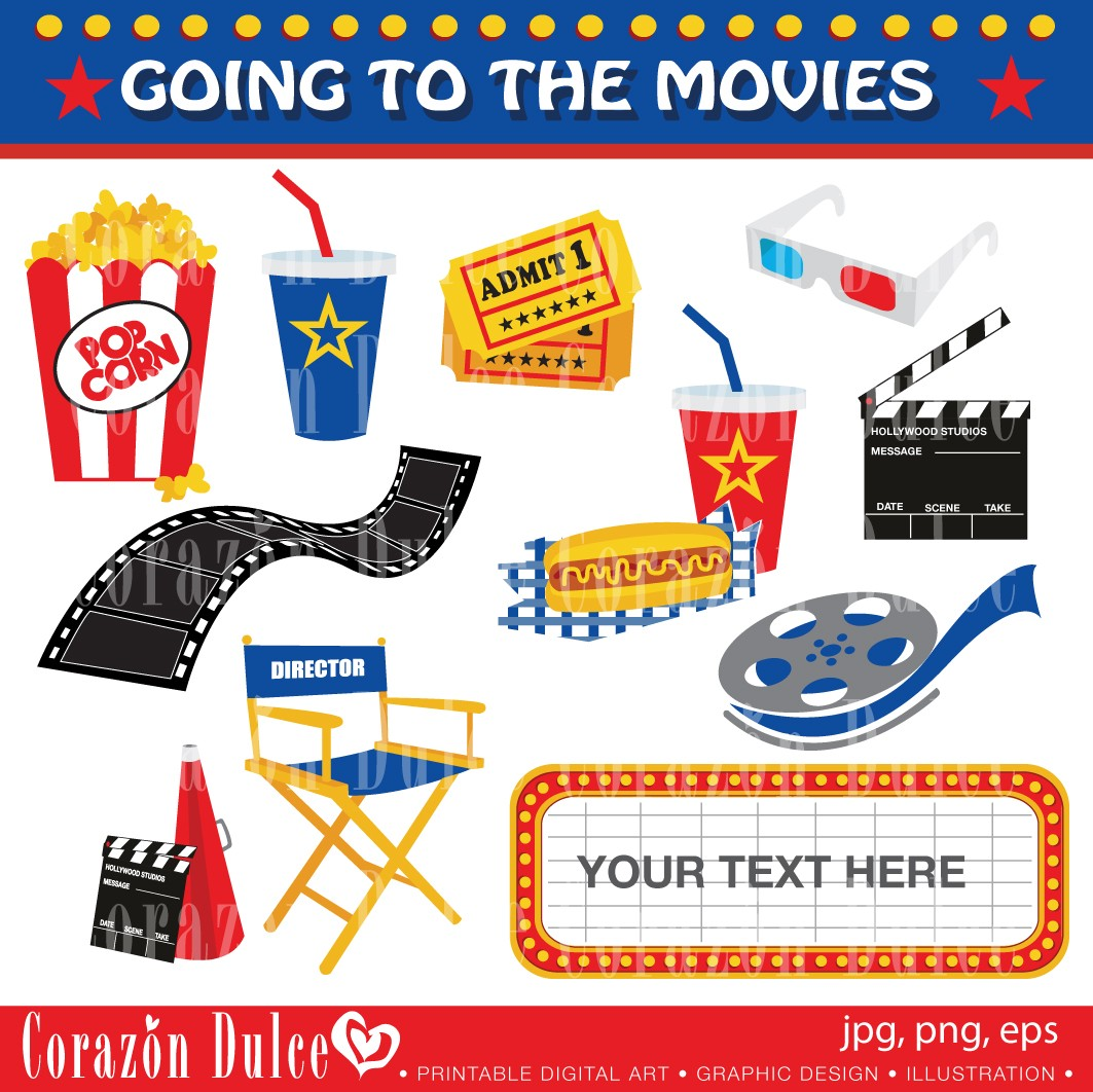 Worksheet Going To The Movies going to the movies clipart kid like this item