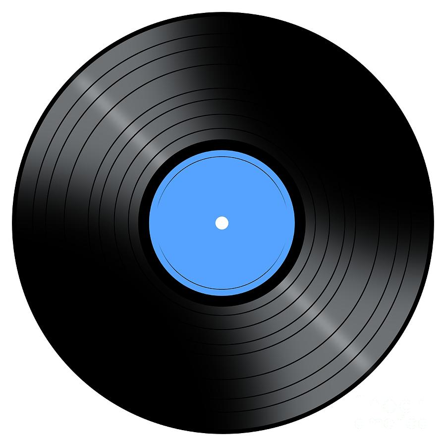 Vinyl Lp Records Clipart - Clipart Kid