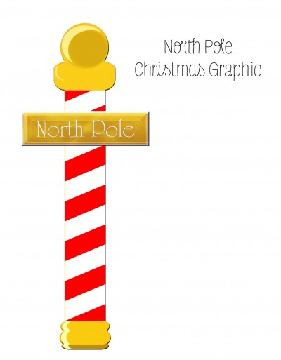 North Pole Express Christmas Sign Clipart   1 00 North Pole Express