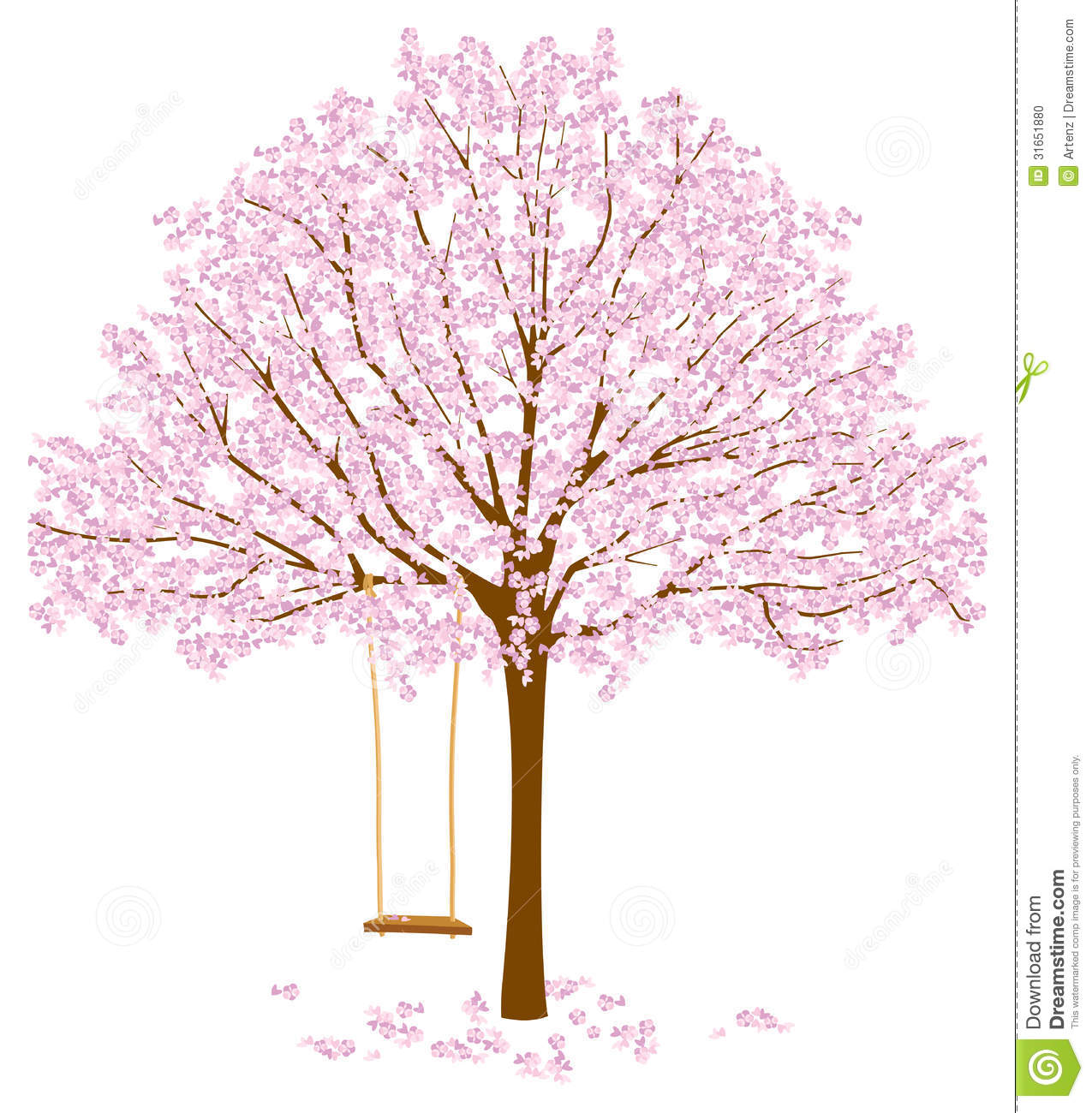 Stock Photo  Tree With Blossoms