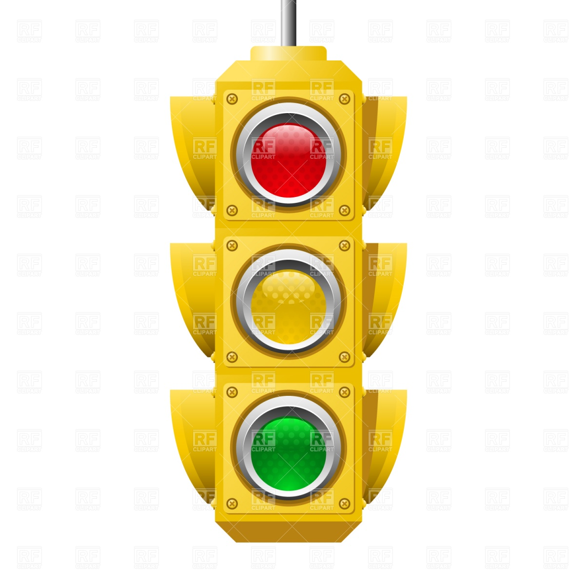 Traffic Lights 1509 Technology Download Royalty Free Vector Clip