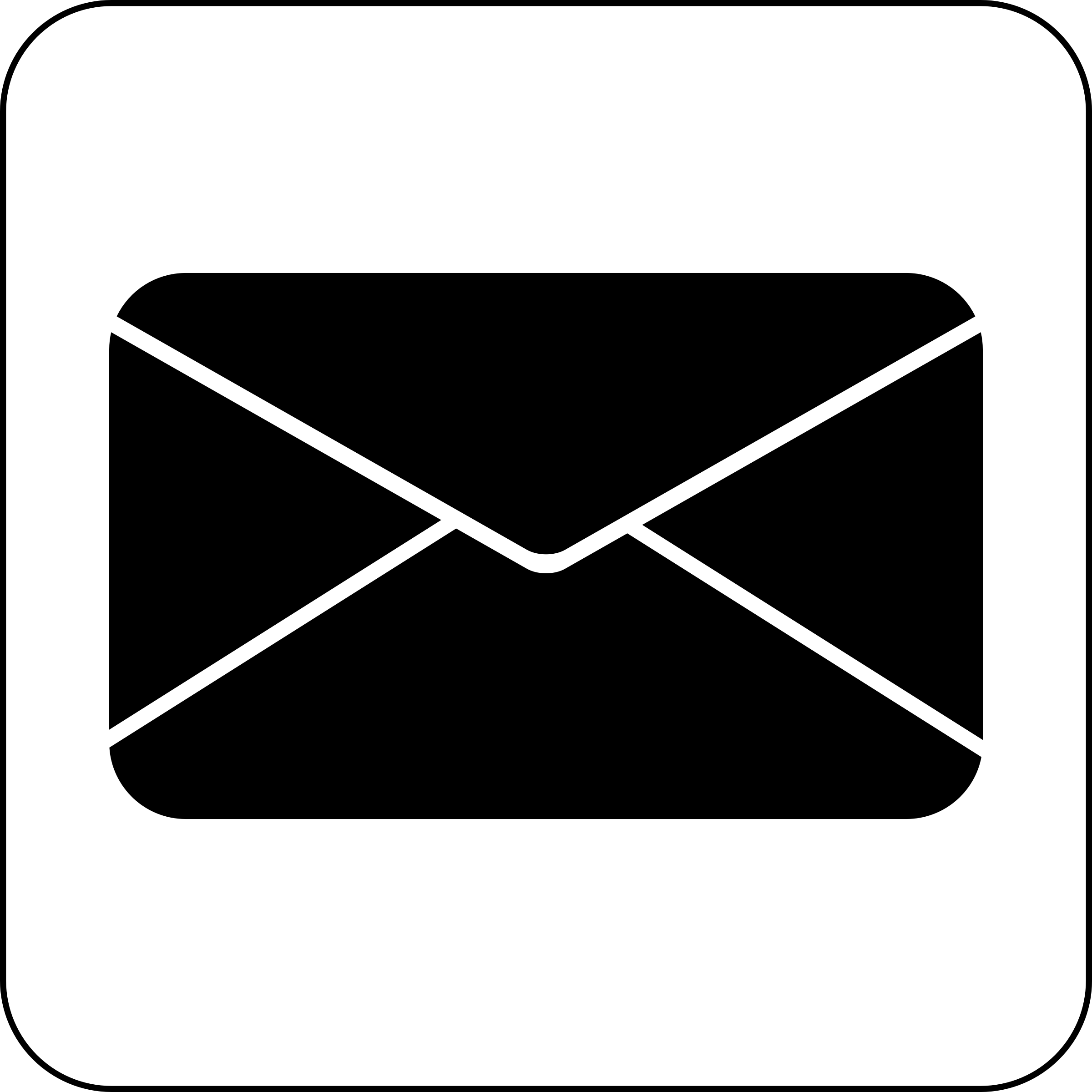 mail symbol clipart