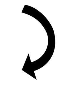 Curved Down Arrow Clipart - Clipart Suggest