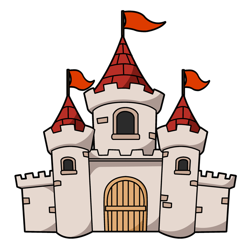 Cartoon Castles Free Cliparts That You Can Download To You Computer