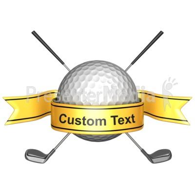 Golf Banner Clipart - Clipart Kid
