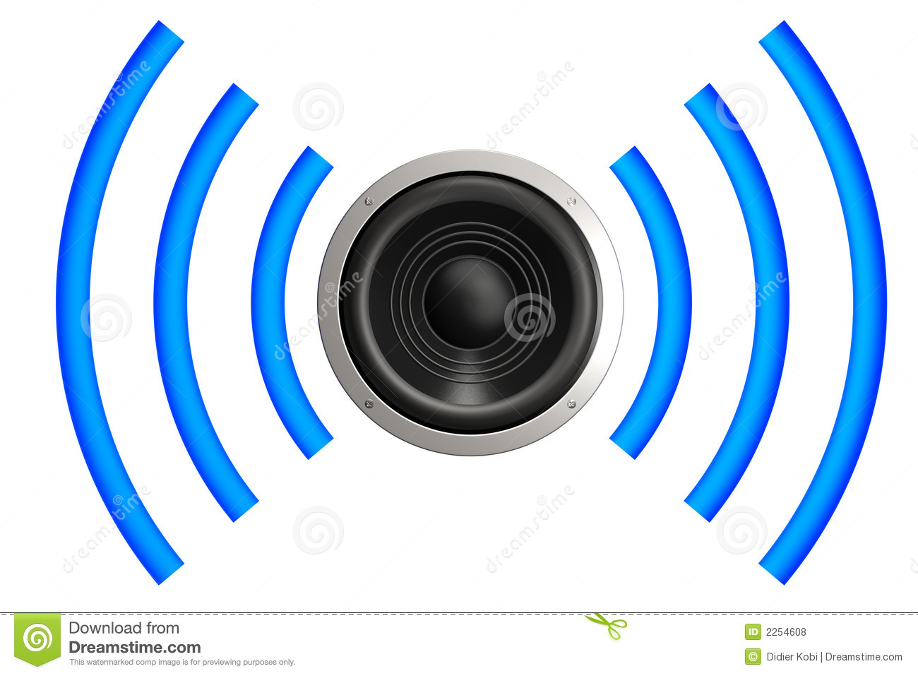 Speaker Sound Waves Clip Art