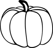 Pumpkin Outline Drawing   Clipart Panda   Free Clipart Images