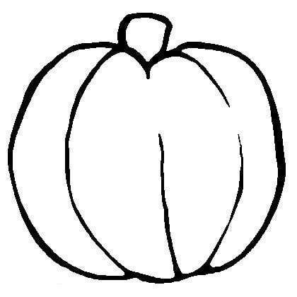Simple Pumpkin Outline   Clipart Panda   Free Clipart Images