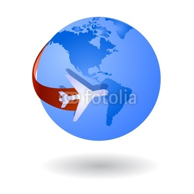 Travel Around The World Clip Art Stock Image And Royalty Free Vector