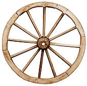 Wagon Wheel Clipart Vector Graphics  668 Wagon Wheel Eps Clip Art