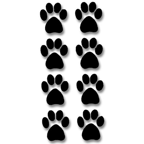 Dog Footprints Clipart - Clipart Kid