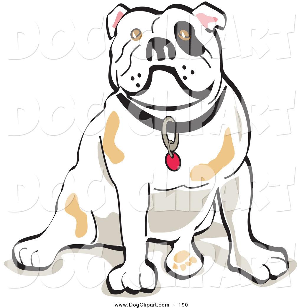 Bulldog Puppy Clipart Clip Art Of A Bulldog Sitting