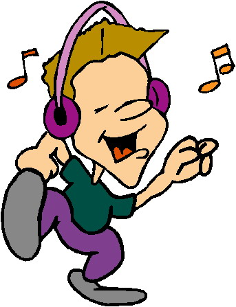 Clip Art Listening To Music #qEblCr - Clipart Kid