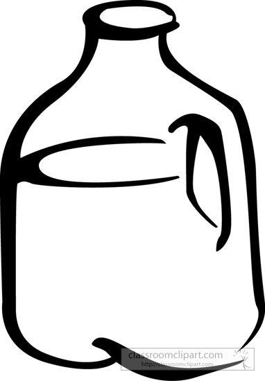 Clip Art Gallon Jug Clipart - Clipart Suggest